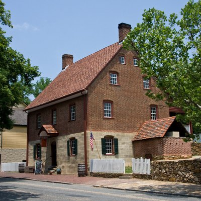 Winkler Bakery at Old Salem, Winston Salem, North Carolina.