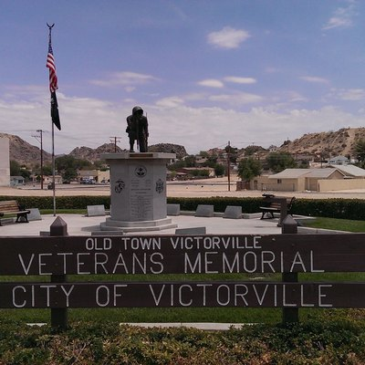 Old Town Victorville Veteran'S Memorial At Seventh St &Amp; Forrest Ave