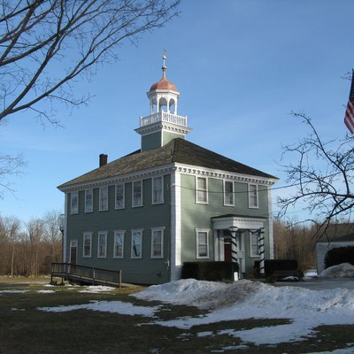 Old Westford Academy, Westford Massachusetts, February 2010 - Now the Westford Museum