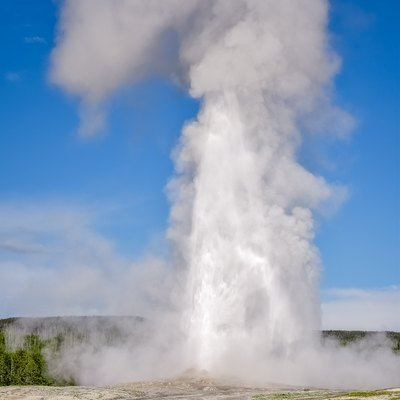 Yellowstone, Old Faithful, Geyser, 2015, United States