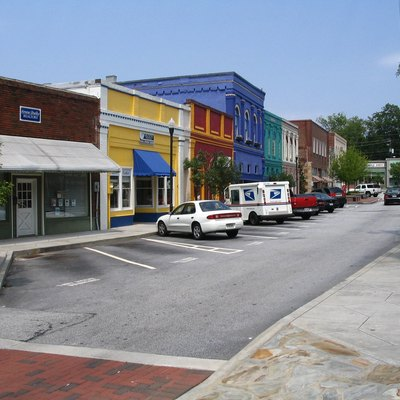 Photo of Olde Town Conyers in Rockdale County, Georgia. Photo taken by Steve Karg