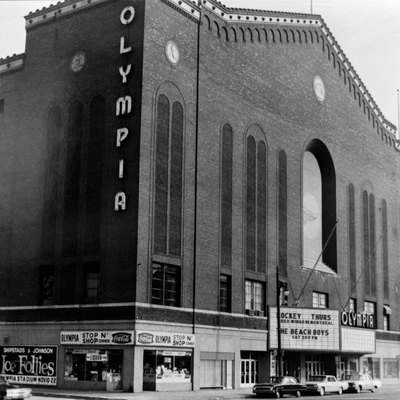 Olympia Arena (demolished) formerly at 5920 Grand River Avenue, Detroit, MI