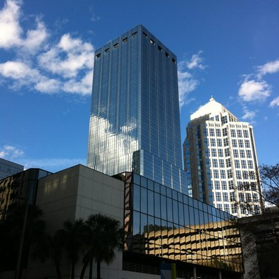 One Tampa City Center skyscraper in Tampa.