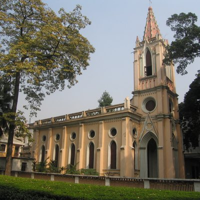 This church is on Shamian Island in Guangzhou.