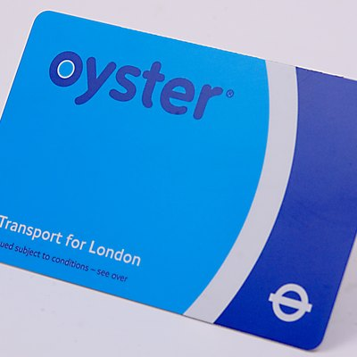 Oystercard for the London Underground