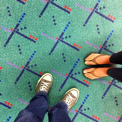 The iconic PDX Carpet in December 2014