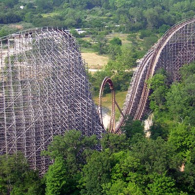 Son of Beast roller coaster at Paramount's Kings Island.