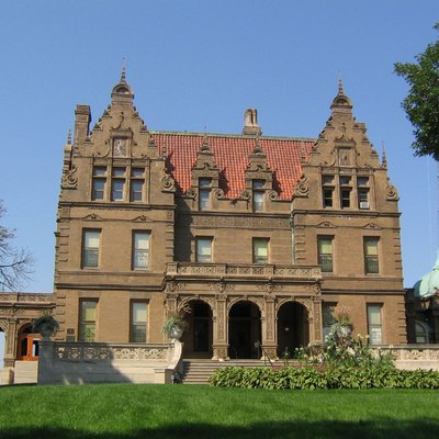 The Pabst Mansion on Wisconsin Ave in the Avenues West neighborhood in Milwaukee, Wisconsin.