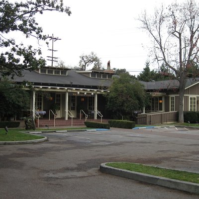 The former Community House in Palo Alto, California