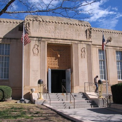 The Panhandle-Plains Historical Museum in Canyon, Texas, USA. Photo by the uploader. Taken on April 7, 2006.