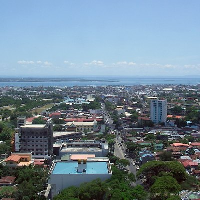Panorama of Cebu City South district