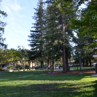 Park in downtown Los Gatos