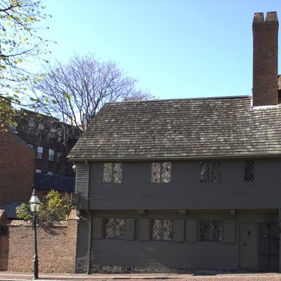 Paul Revere House, North End, Boston, MA