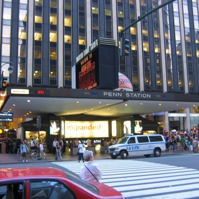 I take this nice picture of Pennsylvania Station/ Madison Square Garden entrance back in 2005.. Look at my user page for licensing details, forsoo. - Rickyrab.
