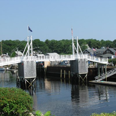 The bridge at Perkins Cove in Ogunquit, Maine