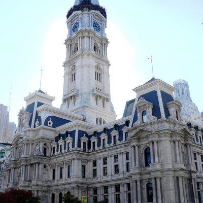 City Hall, Philadelphia'S Tallest Building Until 1987.