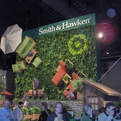 Displays at the Philadelphia Flower Show, 2011. (Photography is encouraged.)