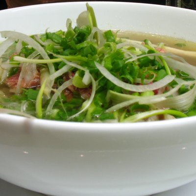 Pho, One Of The Most Popular Vietnamese Dishes.