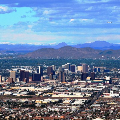 Phoenix as seen from South Mountain