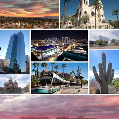 Montage of Phoenix, Arizona