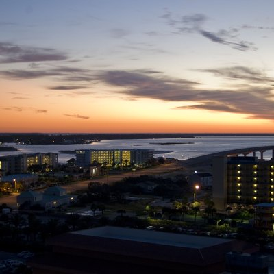 From the front of one of the Phoenix condos in Orange Beach, AL
