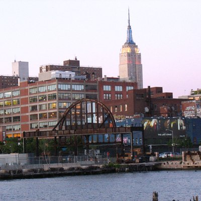 Photo by poster taken in May 2006 showing Pier 54 in New York City.