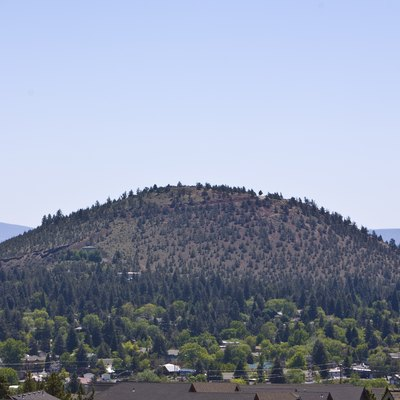 Pilot Butte State Park in Bend, Oregon. Seen from the west (Awbry Butte).
