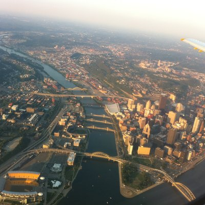 Taken 7/31/2011 from an EMB-145 aircraft flying from Raleigh, NC to Pittsburgh, PA