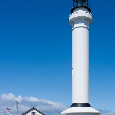 Point Arena Lighthouse, Mendocino County, California.