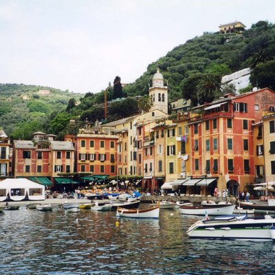 Portofino Harbor Looking Right