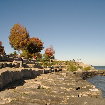 Photo of Chicago's Promontory Point from the south side.