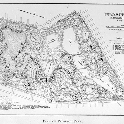 Plan of Prospect Park, Borough of Brooklyn, New York City