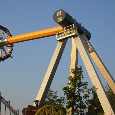 The Psyclone ride in the Canada's Wonderland amusement park (
