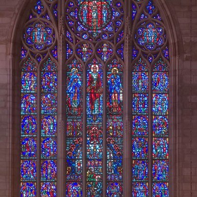Crucifixion window, Princeton University Chapel
