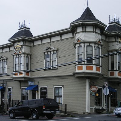 The Pythian Castle building in Arcata, California is on the National Register of Historic Places.