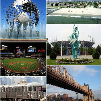 Photo montage of Queens, New York
