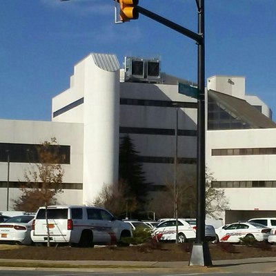 Rocky Mount city hall and police department.