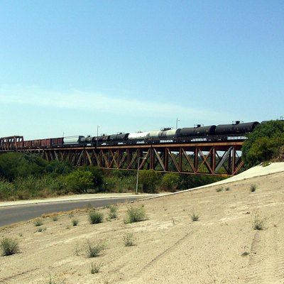 International Railway Bridge Laredo, TX side