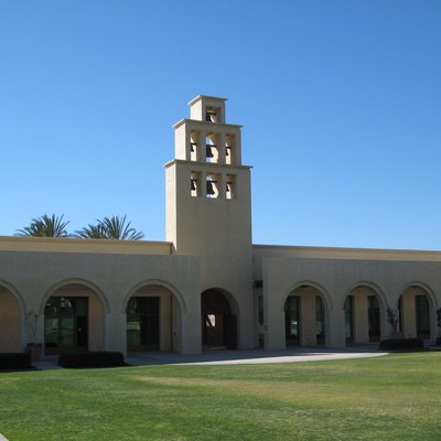 The Rancho Santa Margarita, California City Hall and Community Center building