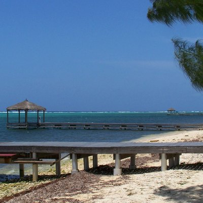 Red Bay dock and piers, South Sound - Grand Cayman Island