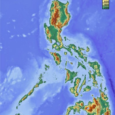 Terrain of the Philippines