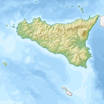 Mount Etna is located in Sicily