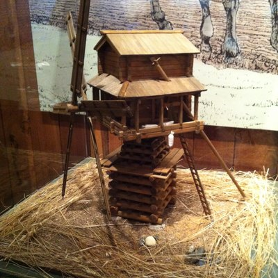 Miniature Replica Of Windmill At Fort Ross - Stolbovki