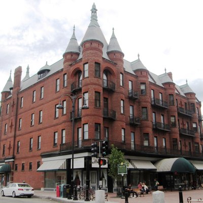 The Richardson Building, now known as Richardson Place, at 2 Church Street at Pearl Street in Burlington, Vermont was built in 1895 in the Chateau Style as the largest department store in Burlington. In 1986 the building won the Hertzel N. Pasacrow Award for