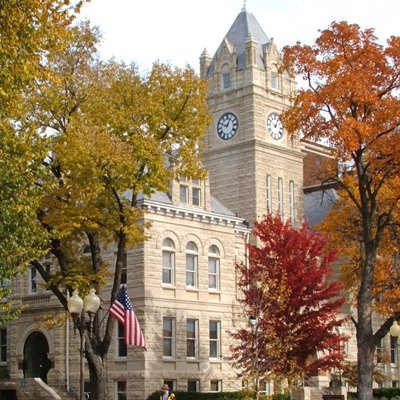 Riley County Courthouse in Manhattan Kansas