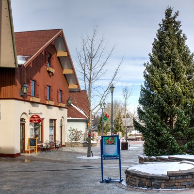 Riverside shops, Frankenmuth, Michigan, 2015-01-11