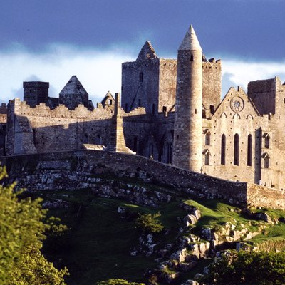 The Rock of Cashel in Ireland pictured in the Summer of 1986.