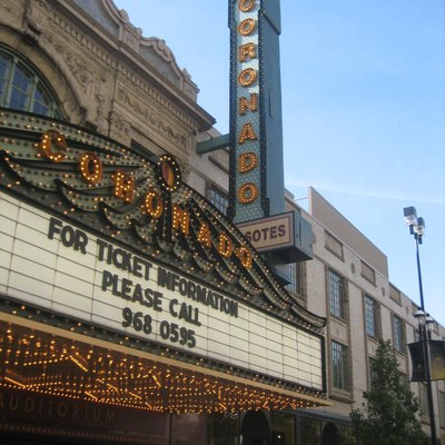 Coronado Theater, Rockford, Illinois, USA. U.S. National Register of Historic Places.