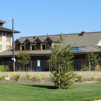 The Rocklin (Amtrak station) in Rocklin, Placer County, California, USA.