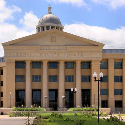 The Rockwall County, Texas Courthouse, Rockwall, Texas, United States